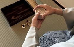 二畳組立式現代茶室「清香庵」設営完了